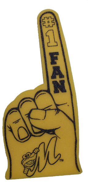 Foam Finger - Click Image to Close