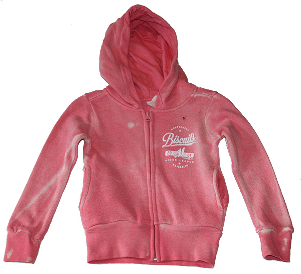 Girls Chuckars Angel Zip Hoodie - Click Image to Close