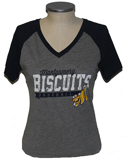 Ladies Biscuits Recline T-shirt