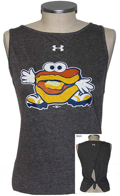 Ladies Under Armour Tie Tee
