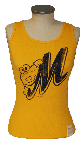 Ladies Retro Ribbed Tank