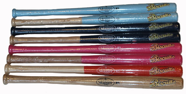 Louisville Slugger Minibats - Click Image to Close