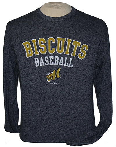 Retro Biscuits LS Mock Twist T-shirt